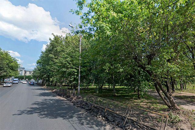 Нанабережной Дубровинского появится автостоянка исквер