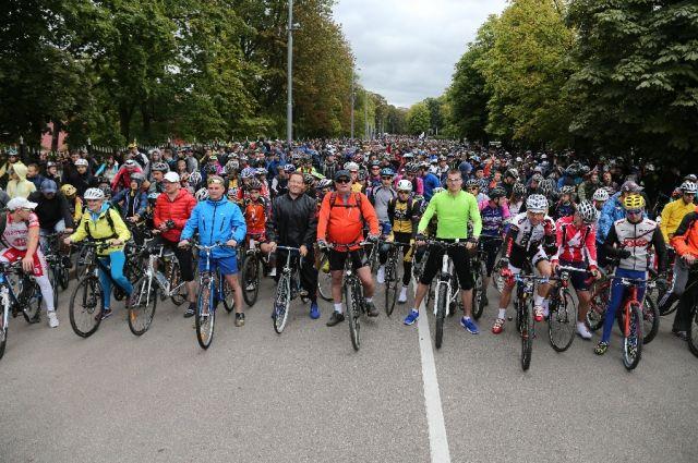 В Калининграде в день открытия велосезона перекроют часть городских улиц.