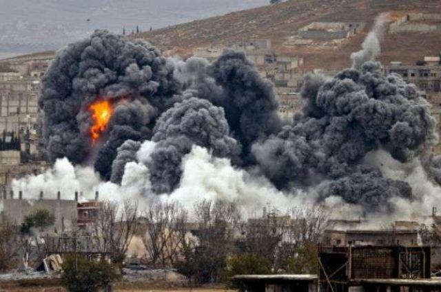 Сирийская армия заявила об авиаударе возглавляемой США коалиции поздно вечером в среду