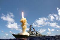 Один из боевых кораблей расположен менее чем в 500 км от площадки для ядерных испытаний КНДР