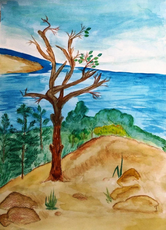Участник №9 Лев К., 5 лет. «Сохраним красоту природы вместе!»