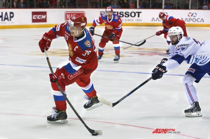 Капитан Олимпийской сборной России Степан Санников.