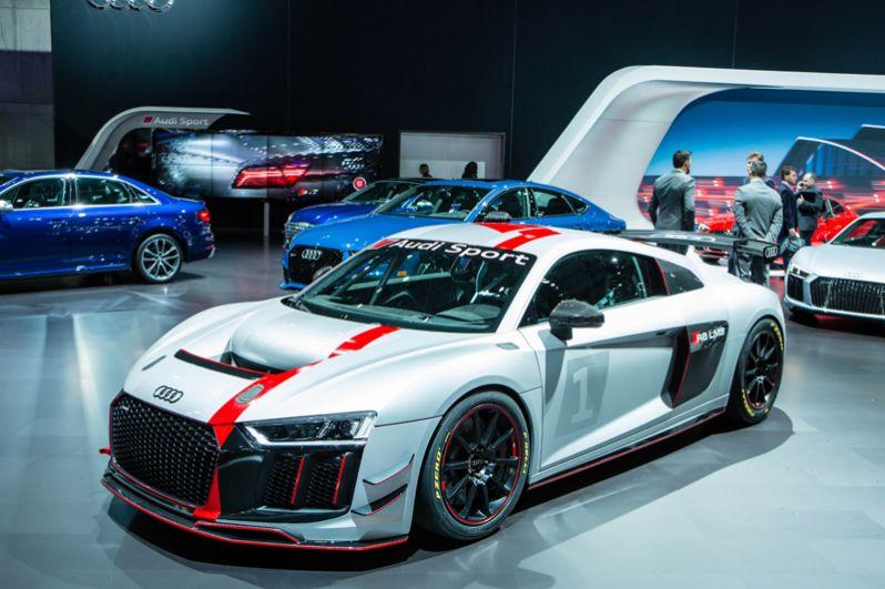 Audi R8 LMS GT4.