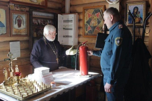 ВКерчи МЧС выявили нарушения пожарной безопасности вцерквях