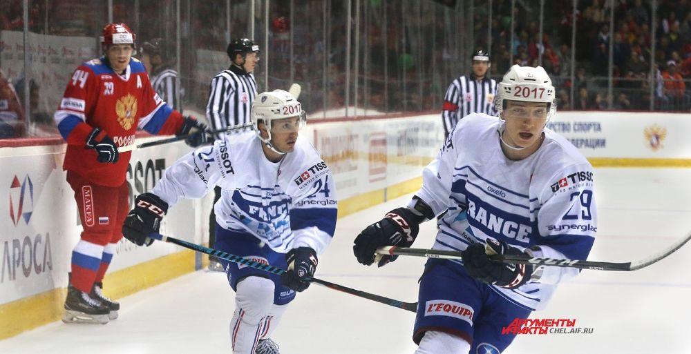 Олимпийская сборная России впервые приезжала в Челябинск.