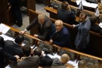Андрей Река в Верховной Раде показал язык журналистам