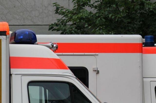 Пострадавшего доставили в больницу