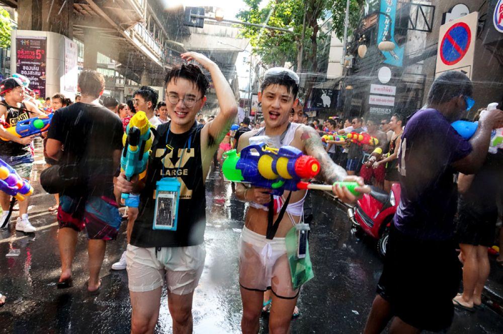 13 апреля. В Бангкоке отмечают тайский Новый год.
