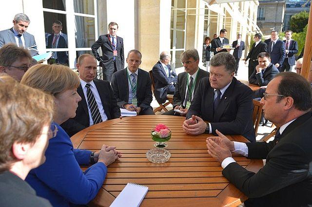 ВКремле неисключают встречи лидеров «нормандской четверки» вближайшее время