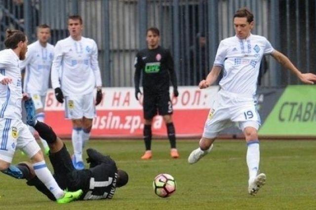 Гармаш забивает гол в ворота «Зари»