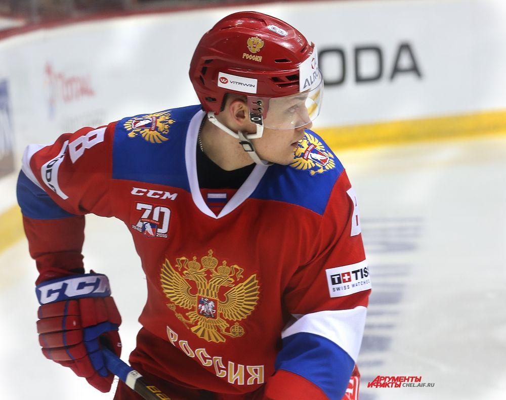 Нападающий российской сборной Андрей Светлаков.