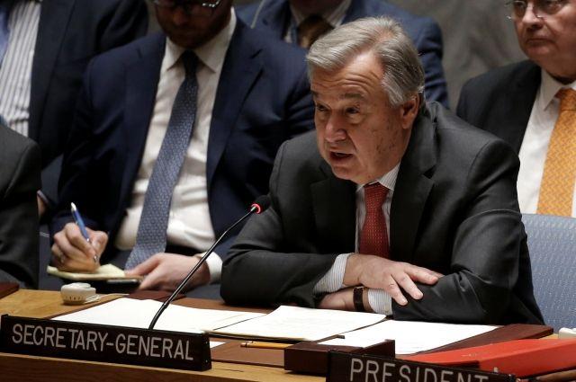 Впредставительстве международной организации ООН осудили теракт врайоне сирийского Алеппо