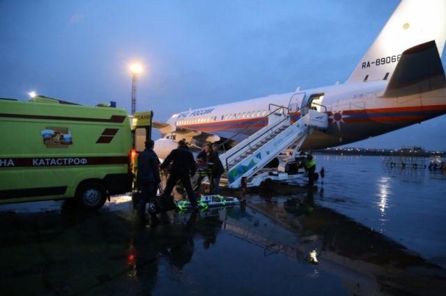 ИзКургана вНижний Новгород эвакуировали тяжелобольного семимесячного ребенка
