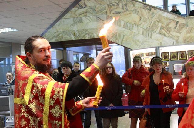 Благодатный огонь доставят в Ноябрьск.