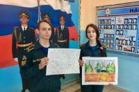 Курсанты 10 класса пожарно-спасательного профиля Доценко Ирина и Зверев Дмитрий приняли участие в фестивале.