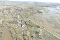 Губернатор ввел в Оренбуржье межмуниципальный режим ЧС из-за паводка