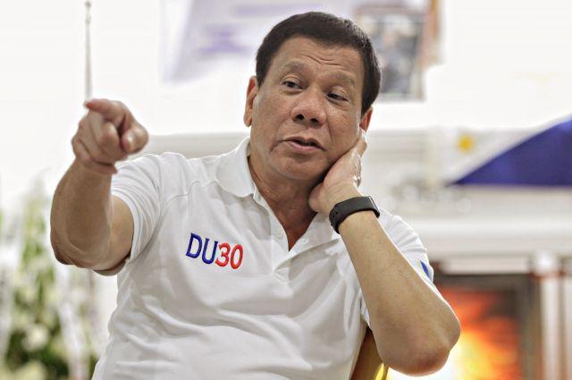 президент филиппин назвал трампа прагматичным мыслителем