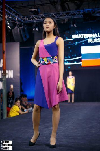Екатерина Ульянова стала третьей нашей девушкой, вошедшей в десятку лучших модельеров Недели моды в Риме.