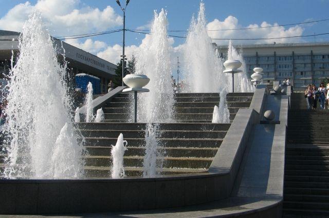 Если позволит погода, то фонтаны могут заработать раньше обычного.