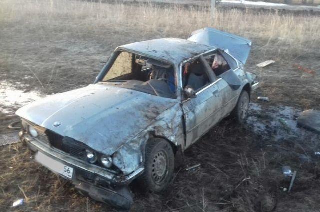 В Сакмарском районе водитель «BMW» после ДТП впал в кому