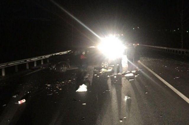5 машин столкнулись под Тулой: среди пострадавших— ребенок