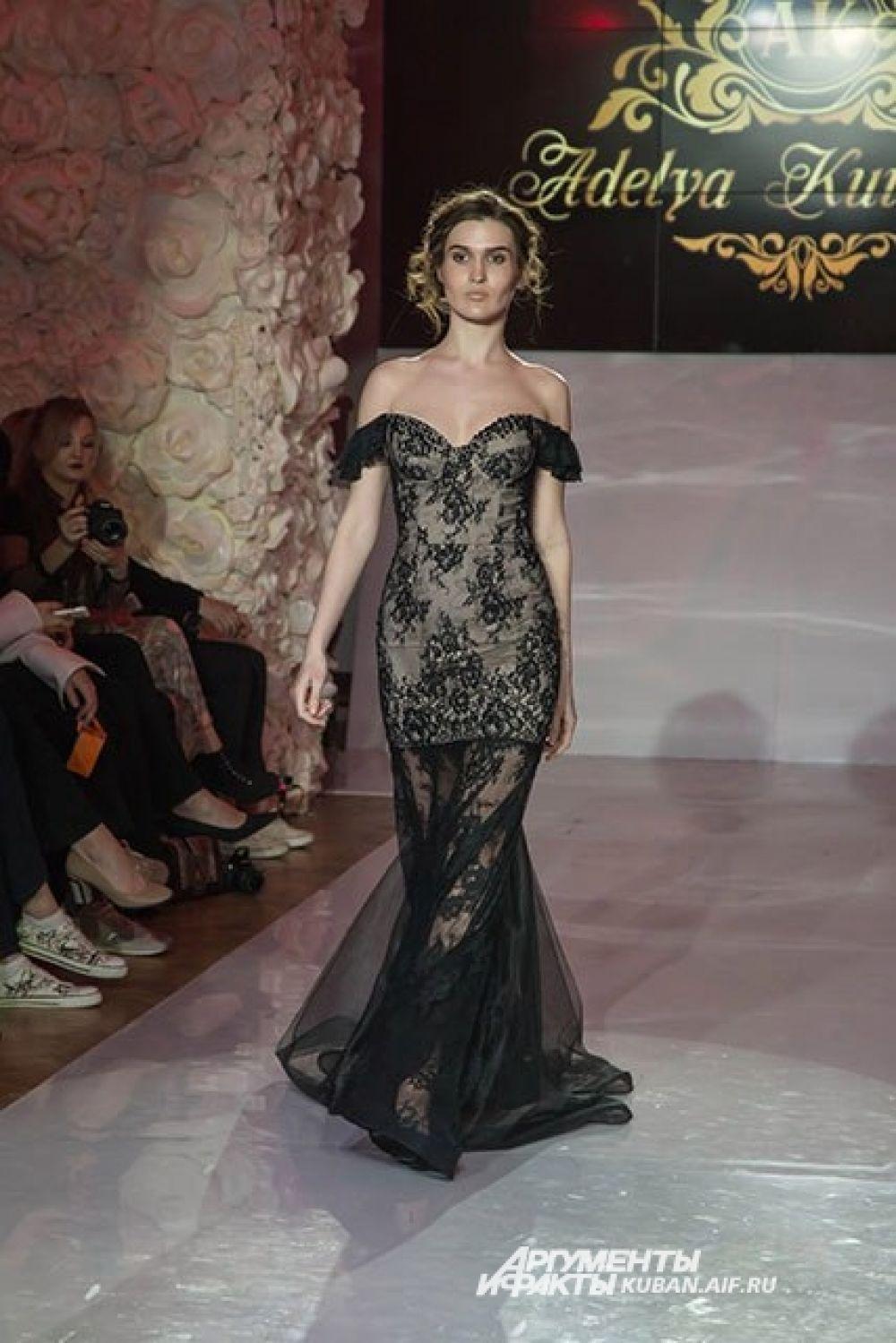 И, конечно, модницам не обойтись без традиционного черного.