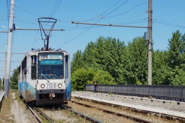ВЧелябинске натри дня закрыли движение трамваев доКоксохима