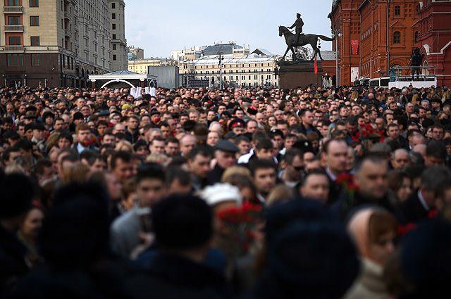 Вместе против террора. Многотысячные митинги прошли по всей России