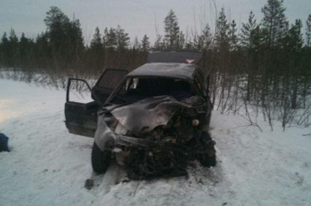 В Муравленко после ДТП в больницу доставлены четыре человека.
