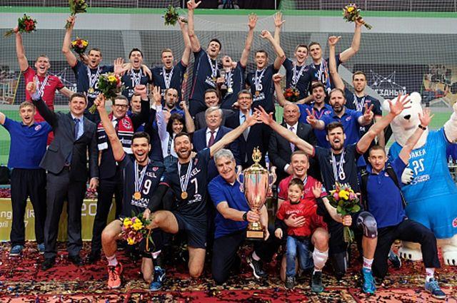 Ямальские волейболисты завоевали Европейский Кубок Вызова.