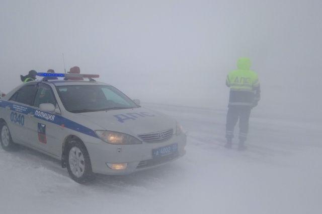 Аэропорт вИркутске перестал принимать самолеты из-за сильного снегопада