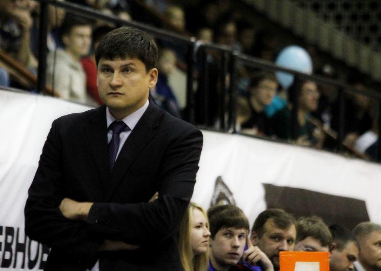 Главный тренер БК «Иркут» Алексей Лобанов.