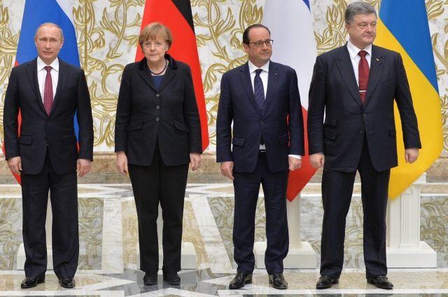 Лидеры стран «нормандской четверки» провели телефонный разговор