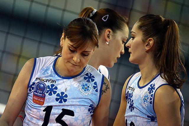 Волейболистки казанского «Динамо» выиграли 1-ый  матч финала чемпионата РФ