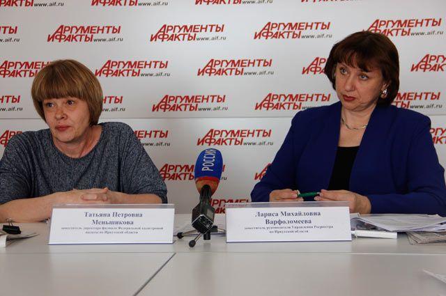 Татьяна Меньшикова и Лариса Варфоломеева.