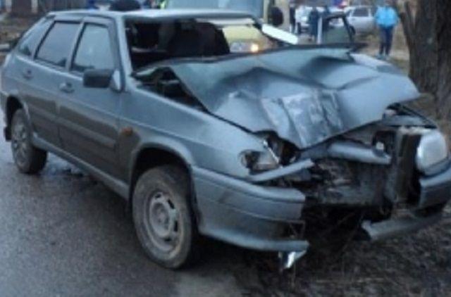 В результате столкновения водитель получил телесные повреждения.