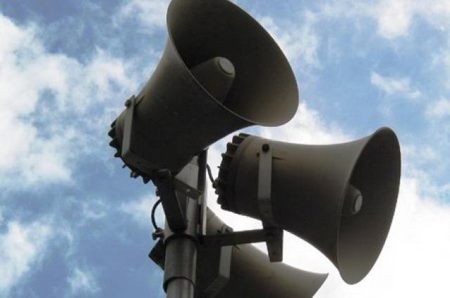Система оповещения населения сработала ночью вДзержинске Нижегородской области из-за короткого замыкания