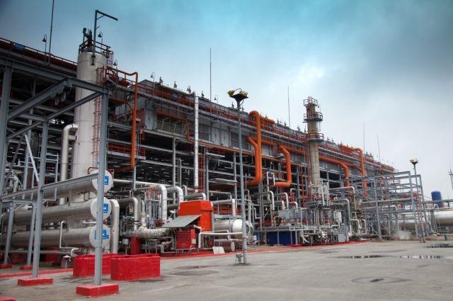 Предприятие по переработке газа ОАО «Сургутнефтегаз».