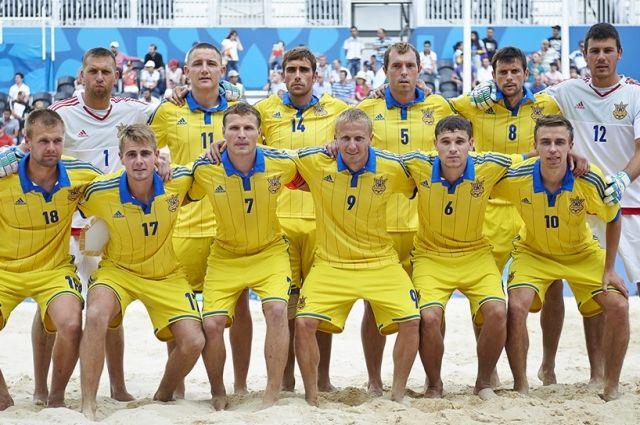 Збірна України з пляжного футболу готуватиметься до сезону у Франківську