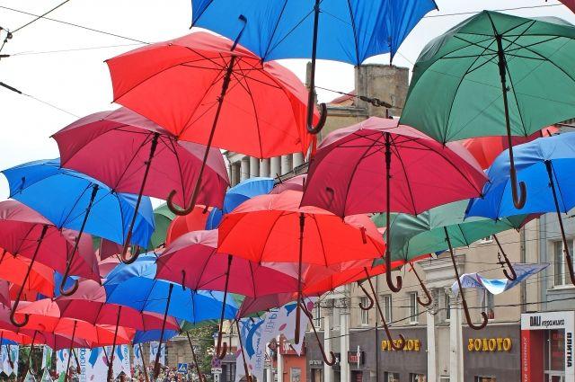 Аллея парящих зонтиков появится в Центральном парке Калининграда.