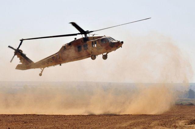 При падении «Черного ястреба» погибли 12 саудовских солдат