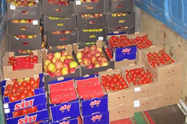 В Тюменской области на полигоне уничтожены две тонны яблок