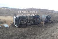По данным ГИБДД, пострадавших в аварии нет.