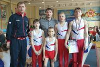 Ангарские гимнасты и их тренеры.