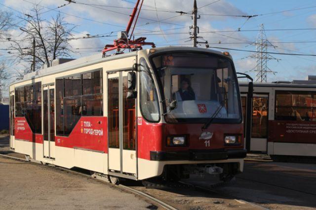 Наулице Марата вТуле разбирают трамвайные пути