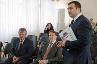 Алексей Гордеев, ознакомившись с модернизацией поликлиники, отметил эффективность проведённой работы.