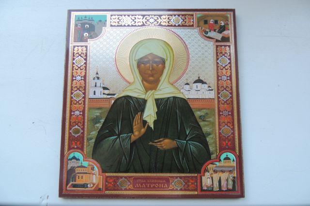 ВМихайловск привезут мощи святой блаженной Матроны