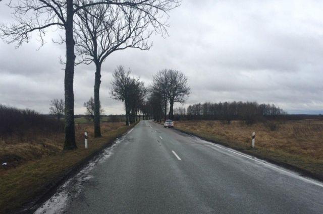 Нетрезвая автоледи устроила аварию на дороге Долгоруково - Каменка.