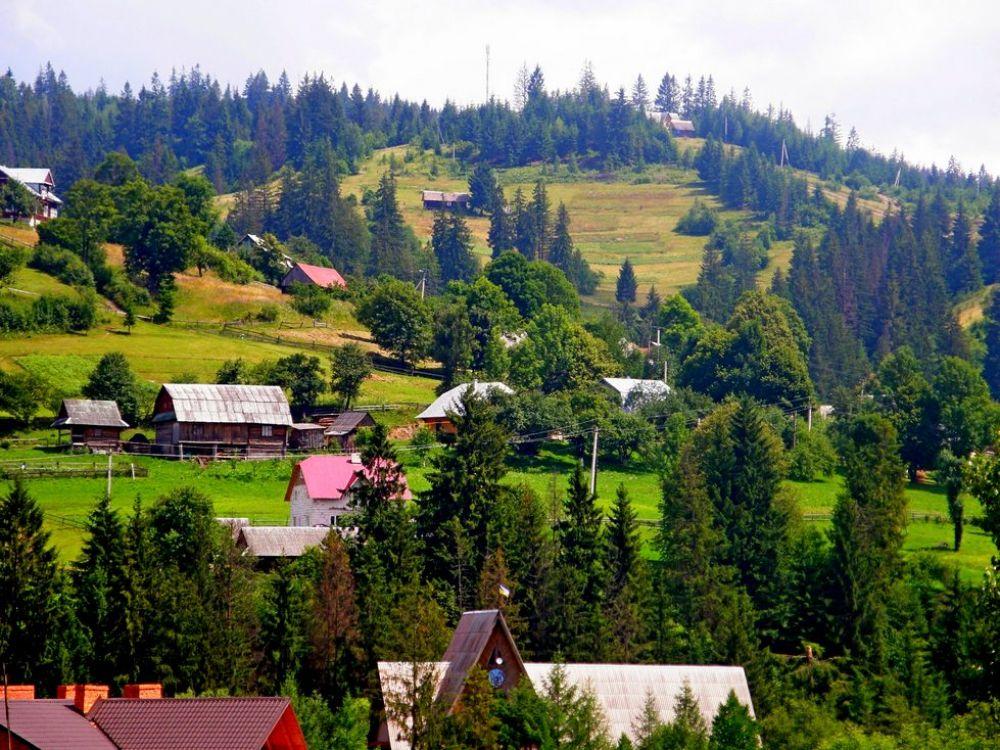 Славское заманивает туристов лыжными курортами и невероятной природой