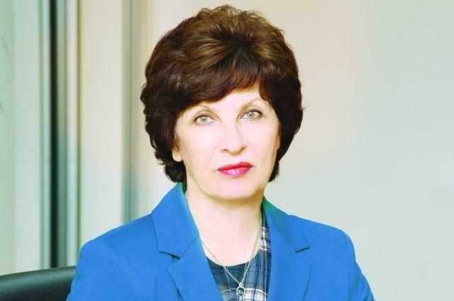 Председатель Правления Банка «Кубань Кредит» Нина Чупрынникова.